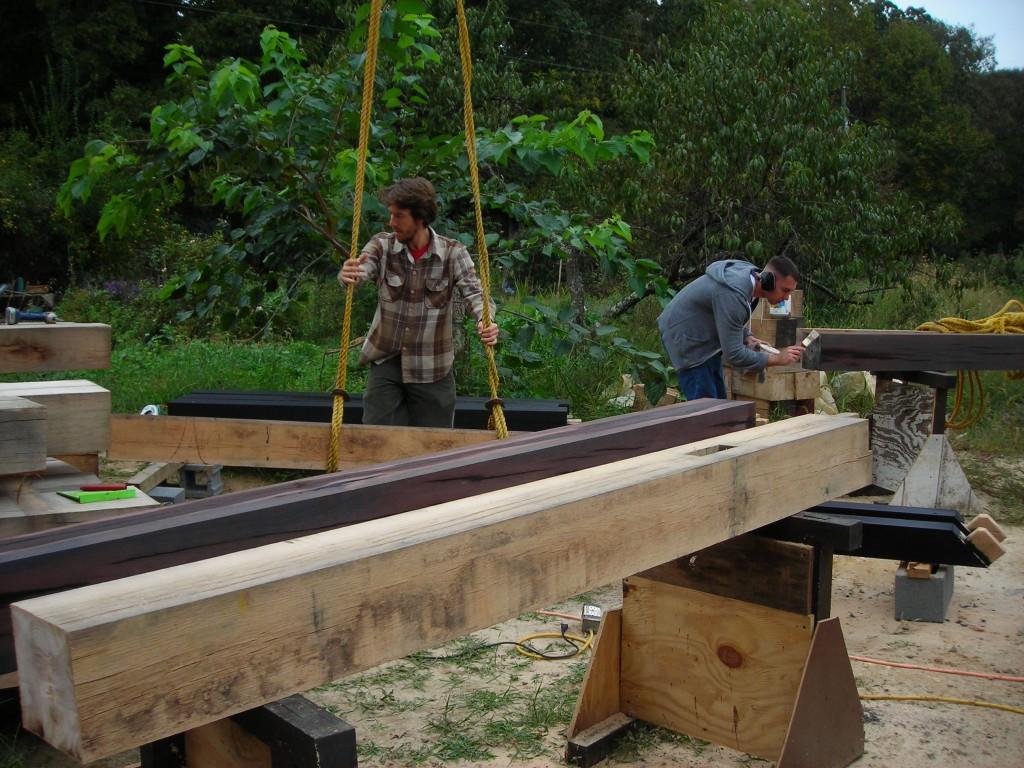 Marco de madera: lo viejo con lo nuevo