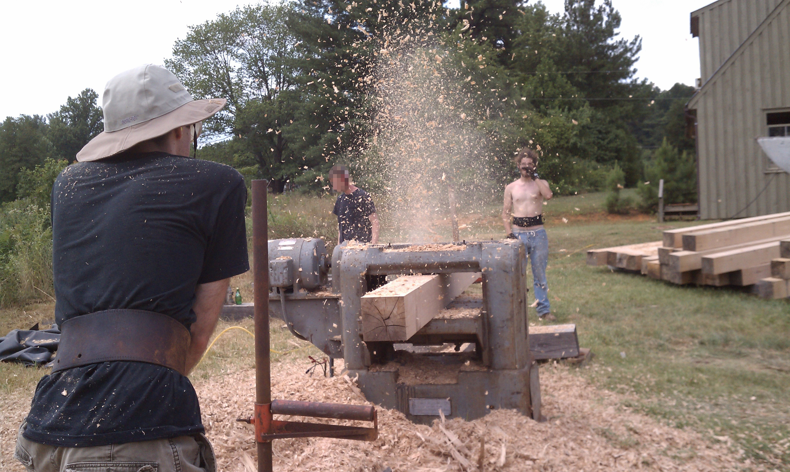 Timber Framing: The Old with the New | Southern Exposure Seed Exchange