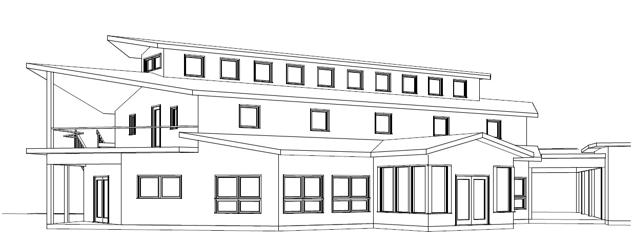 Line Art Building : Plans for the new office southern exposure seed exchange