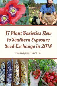 17 nuevas variedades en SESE en 2018