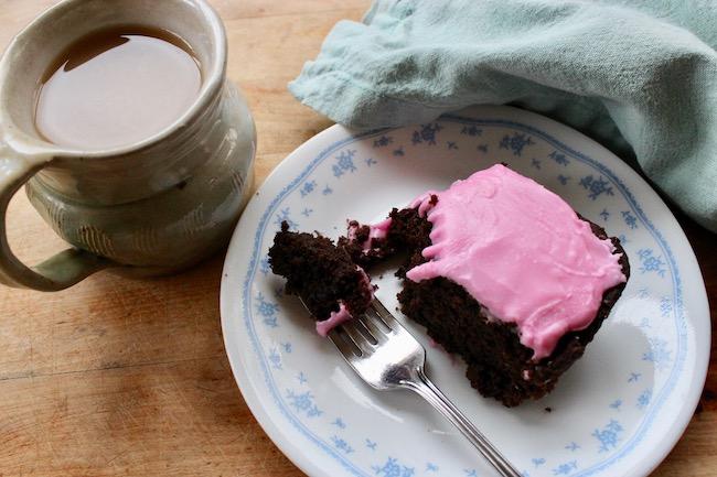 Cómete las remolachas: brownies de remolacha y chocolate dulce