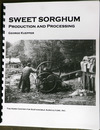 Sweet Sorghum: Production and Processing