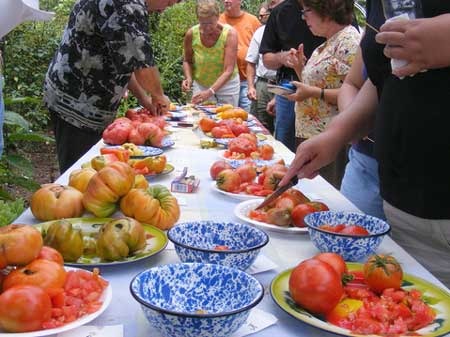 A Tomato Tasting at Rodger's