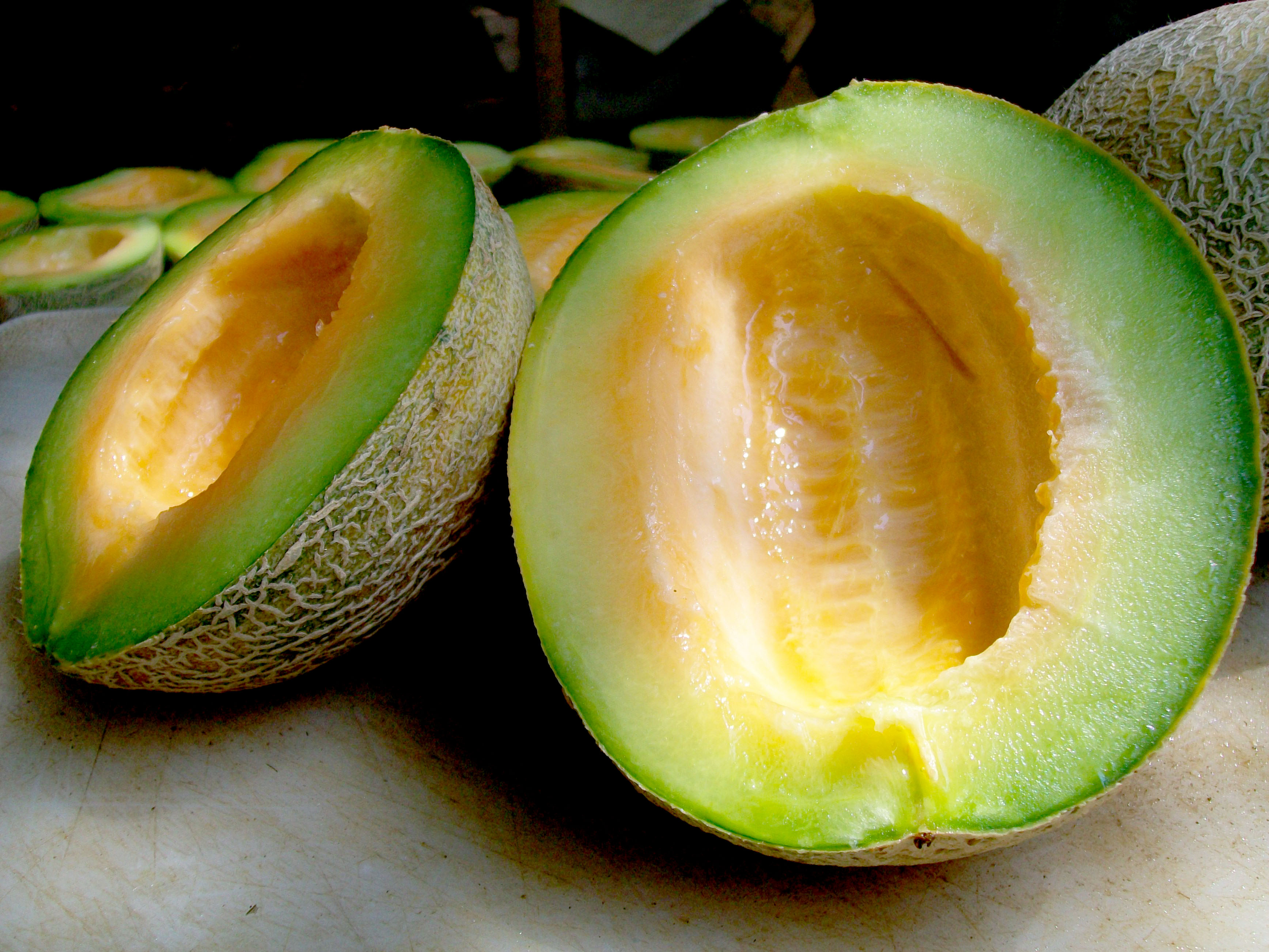 ice cream green machine muskmelon 2 g southern exposure seed