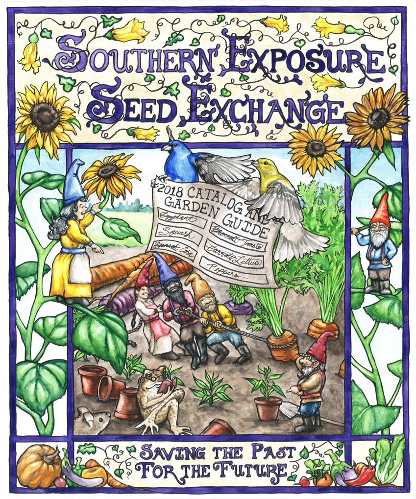 Free 2018 Catalog and Garden Guide Southern Exposure Seed
