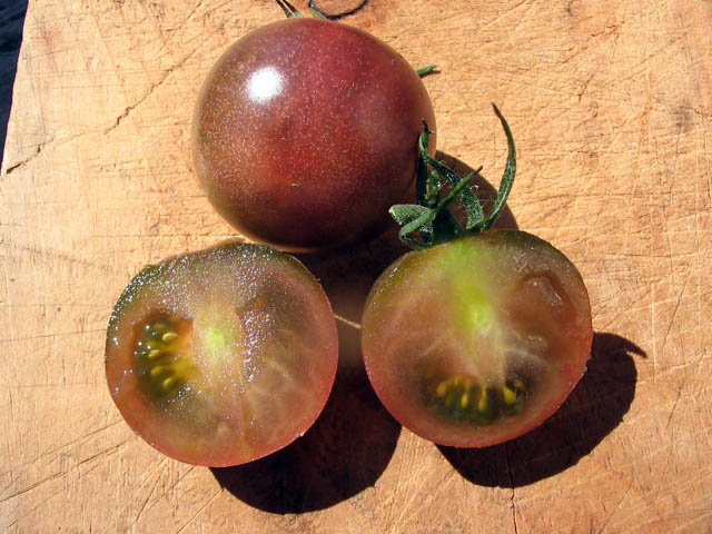black cherry tomato g southern exposure seed. Black Bedroom Furniture Sets. Home Design Ideas