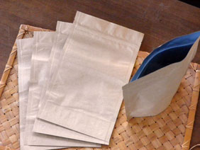 Barrier bags, Metallized, Paper Exterior, 6 cup, 5 bags