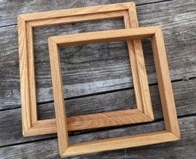 2-Piece set of Seed-Cleaning Frames