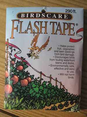 Bird Scare Flash Tape