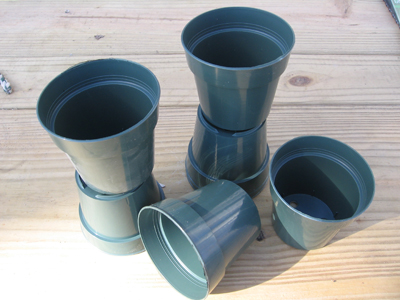 "3"" Plastic Seedling Pots, 24 SUPPLY"